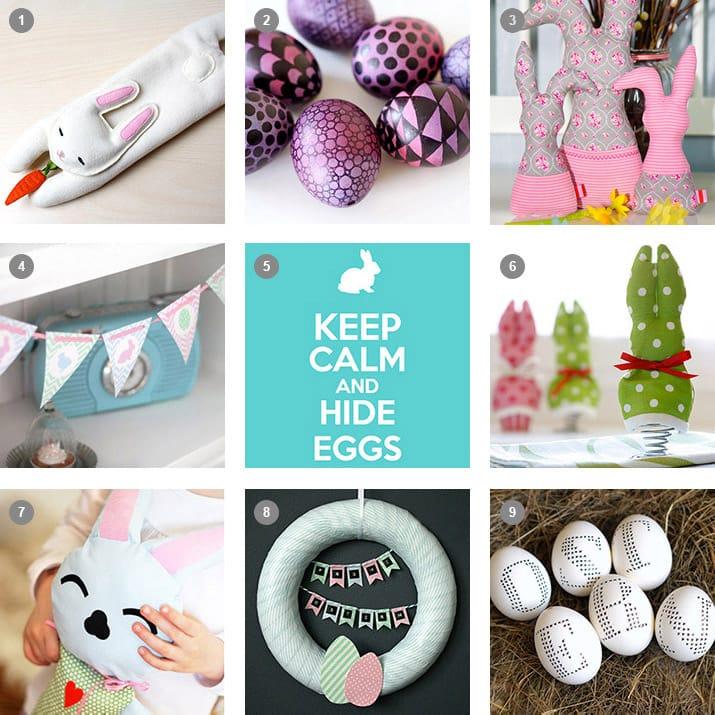 Tolle DIYs & Freebies zu Ostern