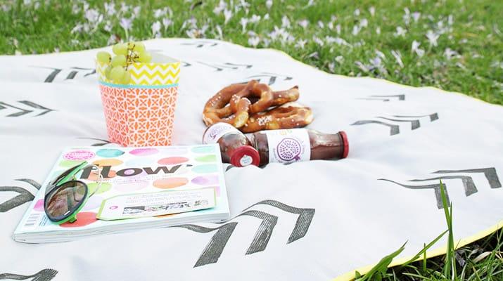 Anleitung Picknickdecke