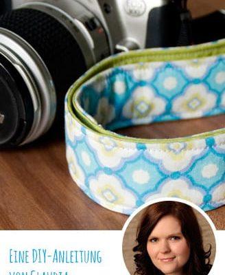 Gebrauchsanleitung: Kameraband selbst nähen