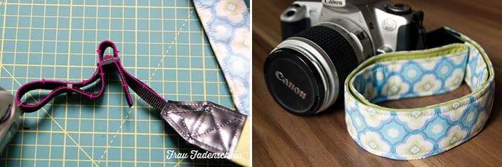 Kameraband selbst nähen
