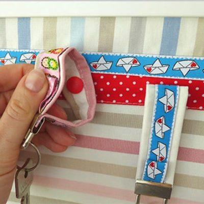 DIY-Anleitung: Schlüsselbrett mit Kam Snaps