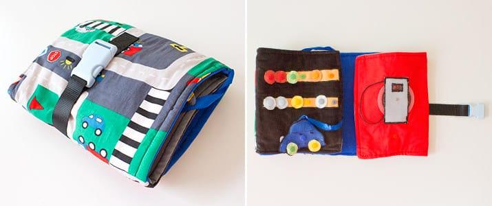 Snaply-Produkte im Einsatz: Ein Autobuch für Kinder