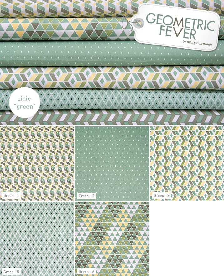 Geometric Fever Green