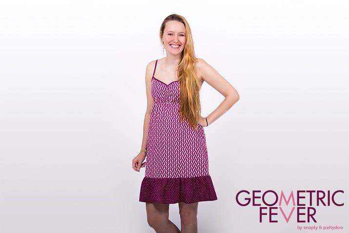 Geometric Fever Kleid