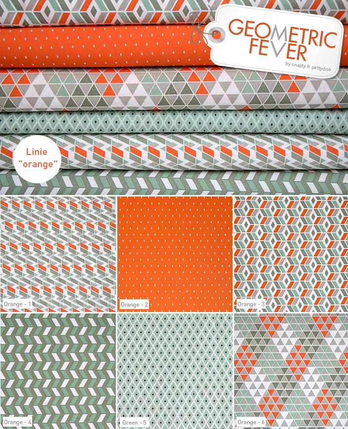 Geometric Fever Orange