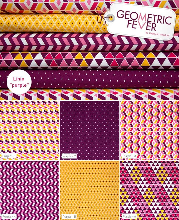 Geometric Fever Purple