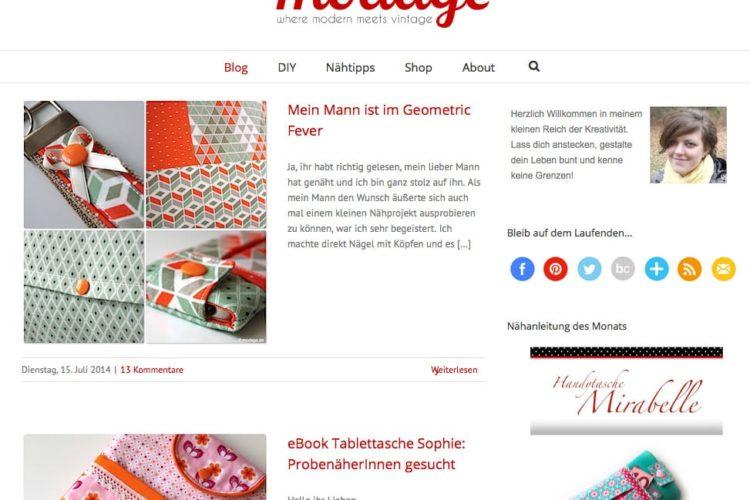 Kreativblog des Monats: modage