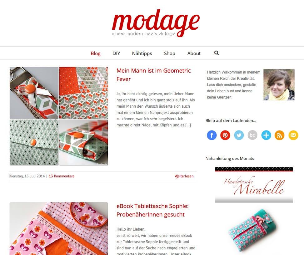 Katrins Blog modage