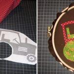 DIY-Anleitung: Applizieren mit dem Stickrahmen