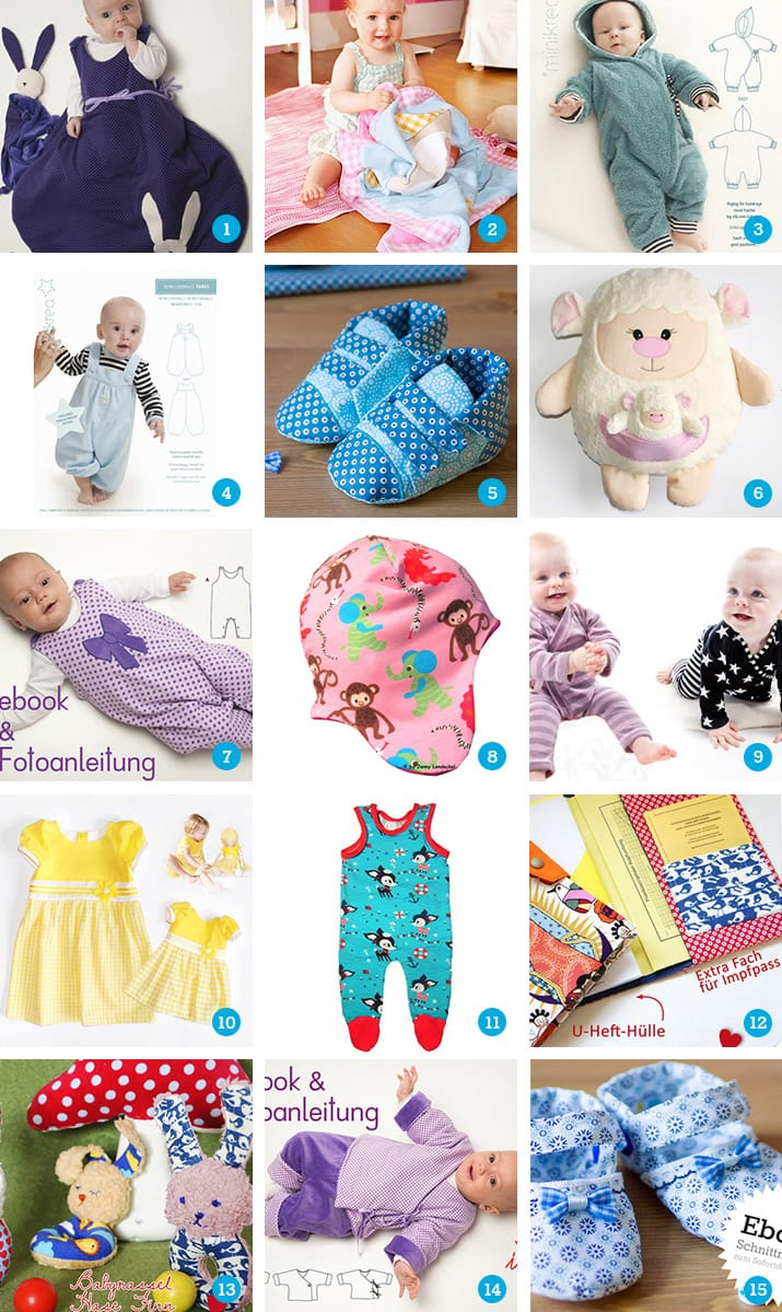 15 Schnittmuster Fur Babysachen Snaply Magazin