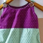 Gratis Anleitung & Schnittmuster: Latzkleid für Babies nähen