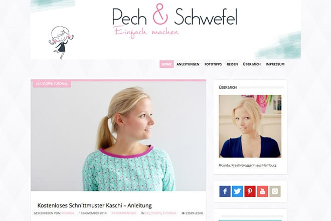 Kreativblog des Monats: Pech & Schwefel