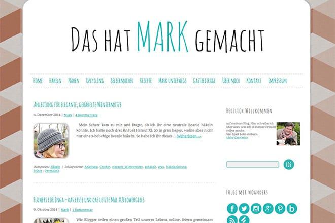 Kreativblog des Monats: Das hat Mark gemacht