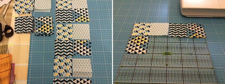 diy anleitung patchwork untersetzer snaply magazin. Black Bedroom Furniture Sets. Home Design Ideas