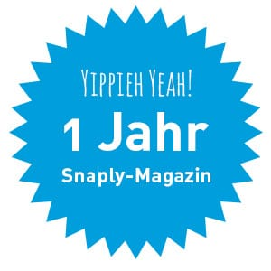 1 Jahr Snaply-Magazin