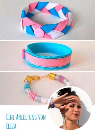 DIY-Anleitung: 3 Armbänder