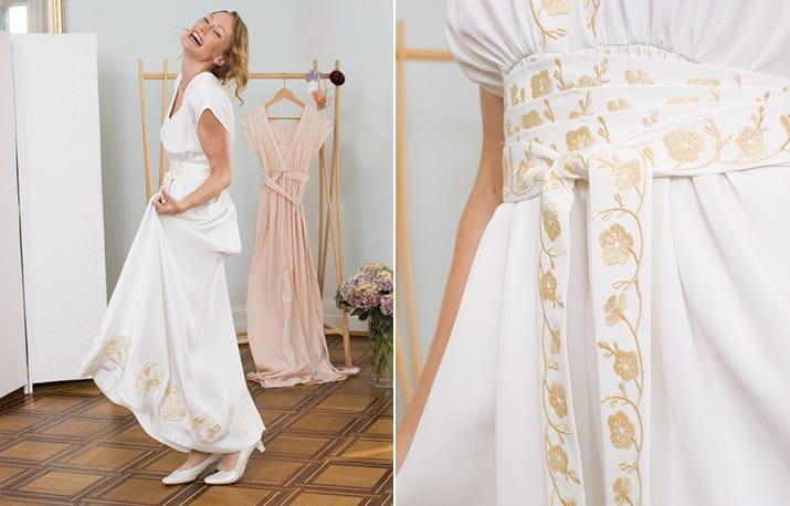 Freebook-Tipp: Hochzeitskleid nähen | Snaply-Magazin