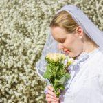 DIY-Anleitung: Romantischen Brautschleier nähen