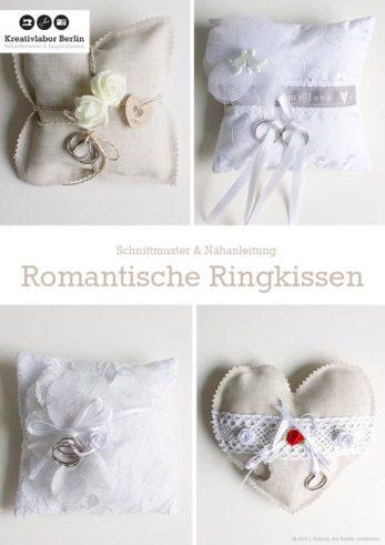 Romantische Ringkissen