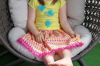 DIY-Anleitung für Kinder: Easy-Peasy Rock selbst genäht!