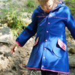 Nähbeispiele mit unseren Bändern & Borten: Softshell-Mantel