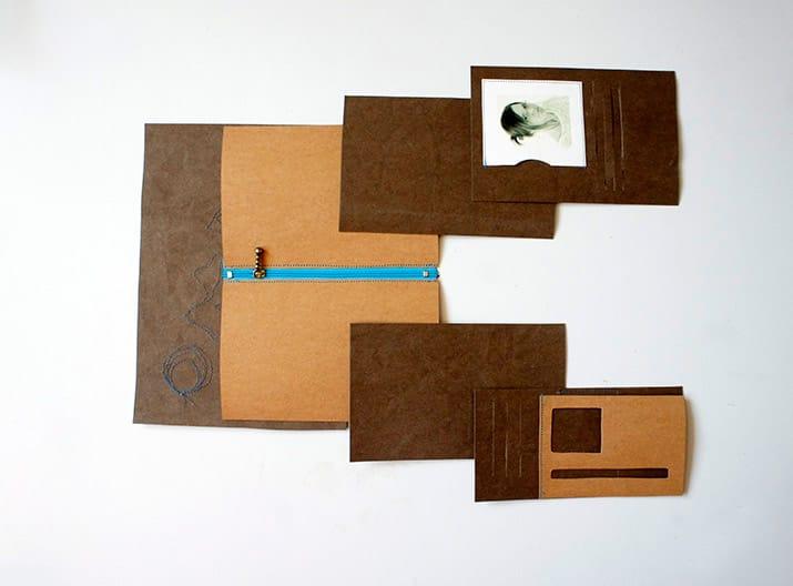 Anleitung Brieftasche SnapPap nähen