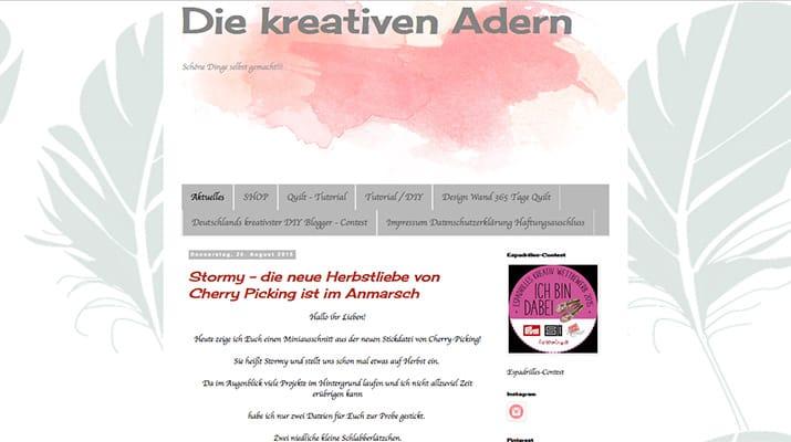 Kreativblog des Monats: Die kreativen Adern