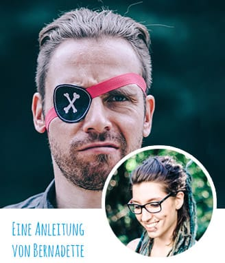 DIY-Anleitung: Piraten-Augenklappe
