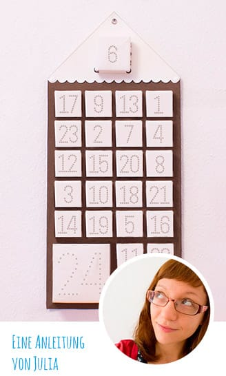 DIY-Anleitung: Befüllbarer Adventskalender aus SnapPap