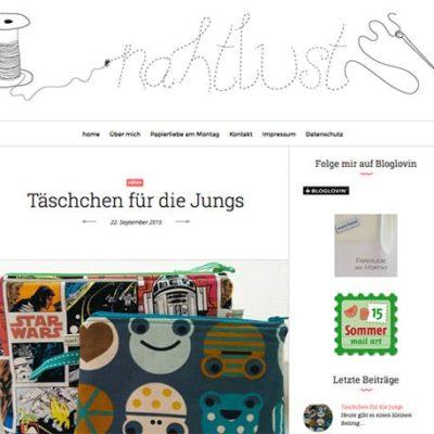 Kreativblog des Monats: Nahtlust