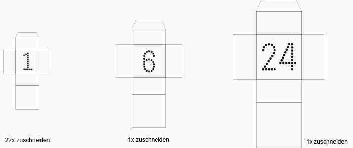 DIY-Anleitung: Befüllbarer Adventskalender