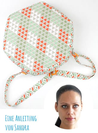 DIY-Anleitung: Diamant-Tasche