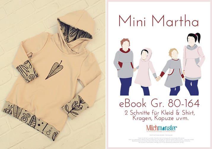 Milchmonster-Schnittmuster Mini-Martha