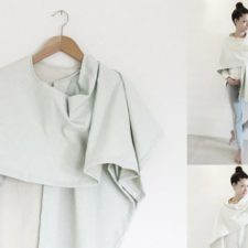 DIY-Anleitung: 3 IN 1 - Kimono | Stillschal | Poncho