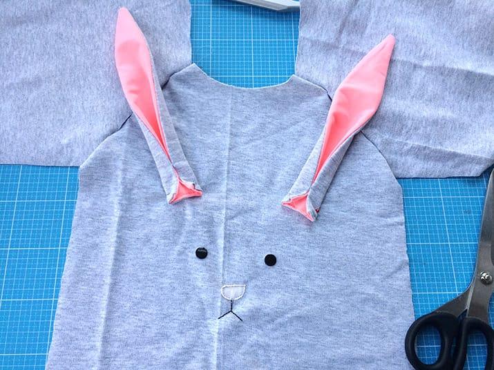DIY-Anleitung Bunny Shirt