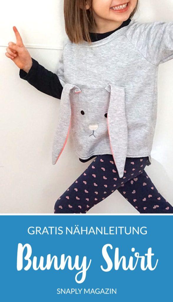 Kostenlose Nähanleitung: Bunny Shirt