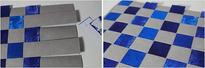 DIY-Anleitung: Gewebtes Platzset aus SnapPap