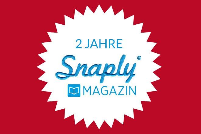 2 Jahre Snaply-Magazin