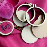 DIY-Anleitung: Poshy Mini-Stickrahmen mit Stickerei