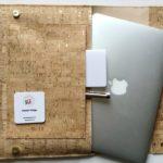 DIY-Anleitung: Laptop-Sleeve aus Korkstoff