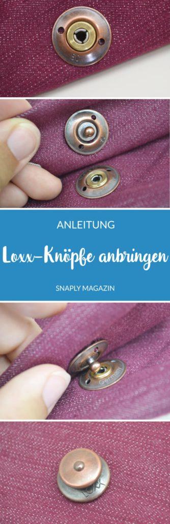 Anleitung: Loxx-Knöpfe anbringen