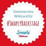 Triff Mr. Snaply und deine Nähheldinnen! Wir verlosen 2 Wildcards für #SnaplyBackstage inkl. Übernachtung