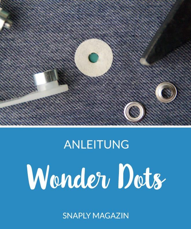 Anleitung: Wonder Dots anbringen