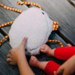 DIY-Anleitung: Babyrassel als Figur