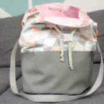 Gratis Nähanleitung & Schnittmuster: Bucket Bag