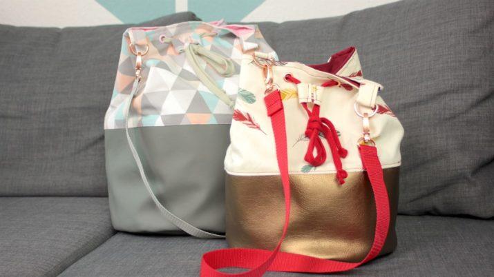 Gratis Nähanleitung & Schnittmuster: Bucket Bag - Snaply-Magazin