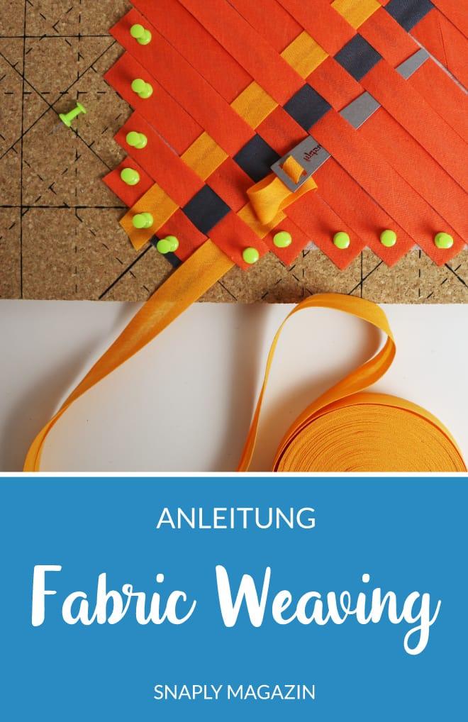 Anleitung: Fabric Weaving