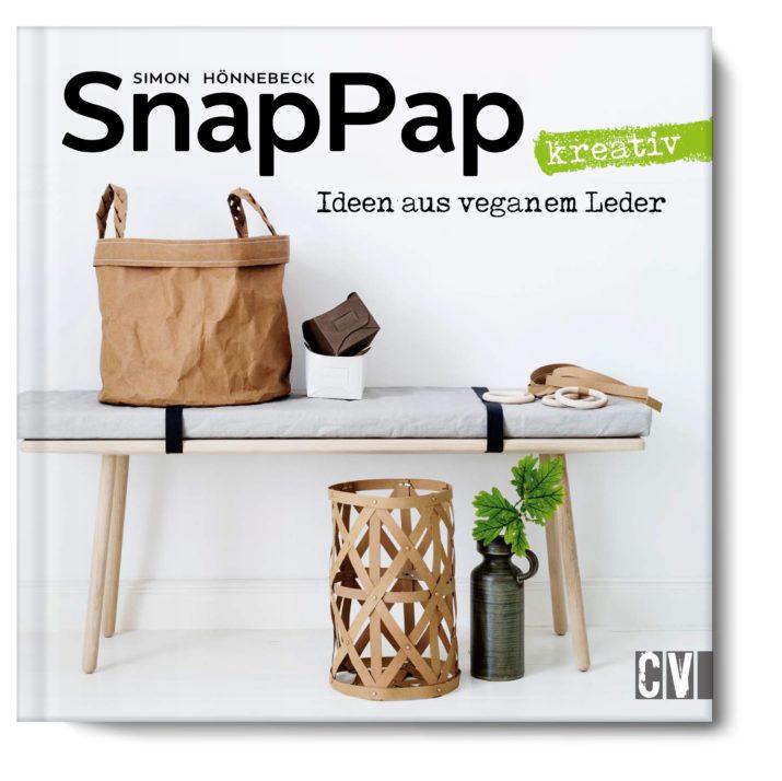 Buchtipp: SnapPap kreativ | Ideen aus veganem Leder