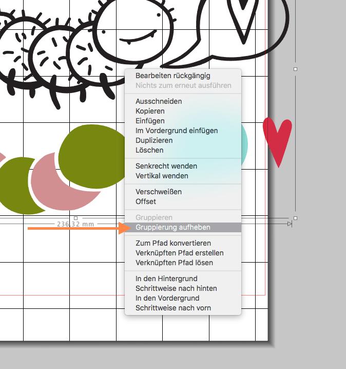 Gebrauchsanleitung & Plotterfreebie: Kleine Raupe | Mehrfarbig plotten mit Flexfolien