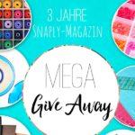 Wir feiern 3 Jahre Snaply-Magazin: Großes Gewinnspiel